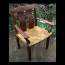 outdoor dining chair african mahogany and camphor laurel