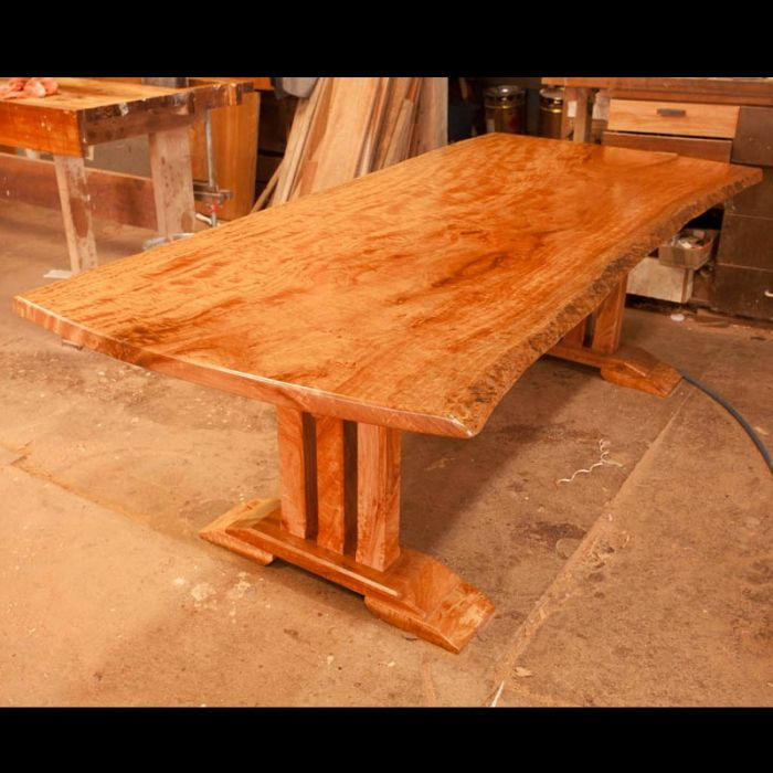 Susans Queensland Maple Dining Table 2400 X